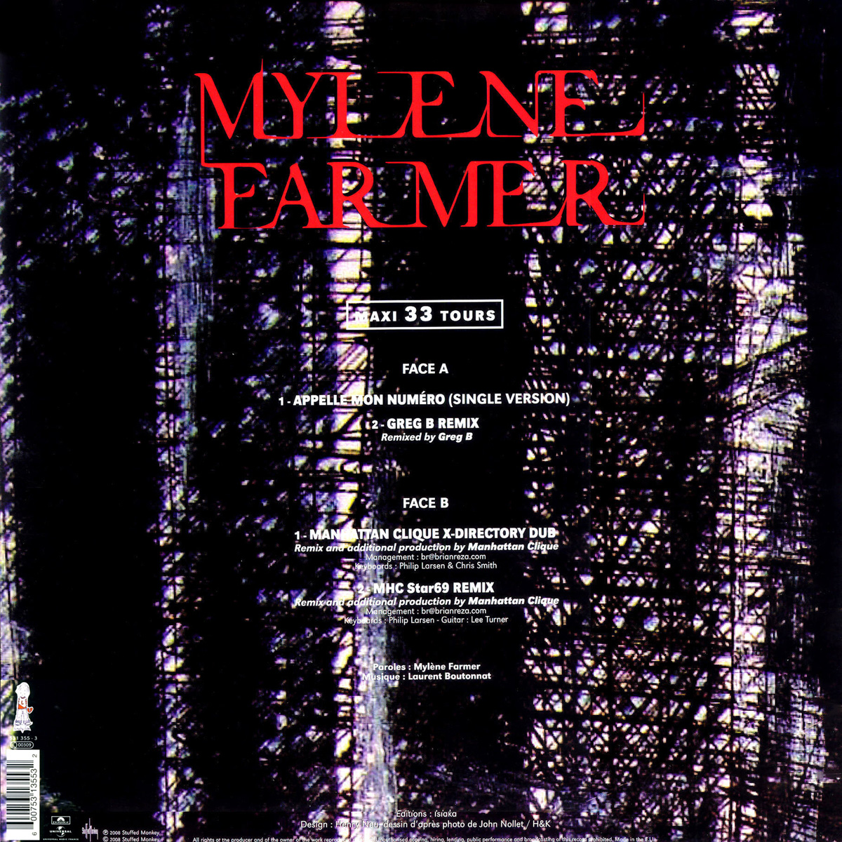 MYLENE FARMER APPELLE MON NUMERO MP3 СКАЧАТЬ БЕСПЛАТНО